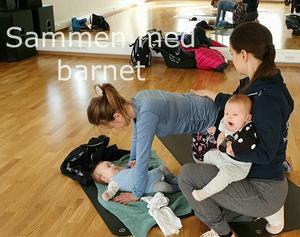 Morbarn med 2 barn